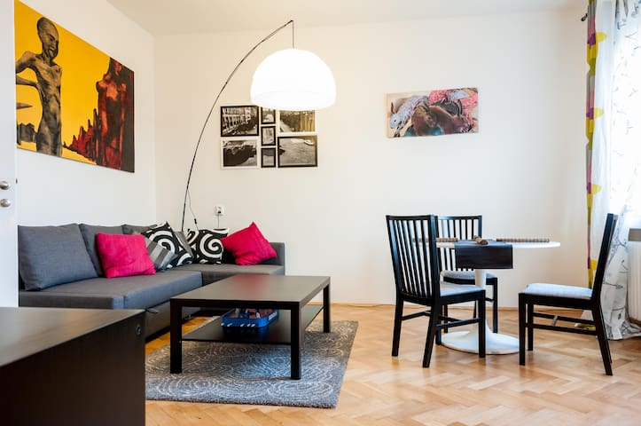 Funky Central Art Apt with Terrace!