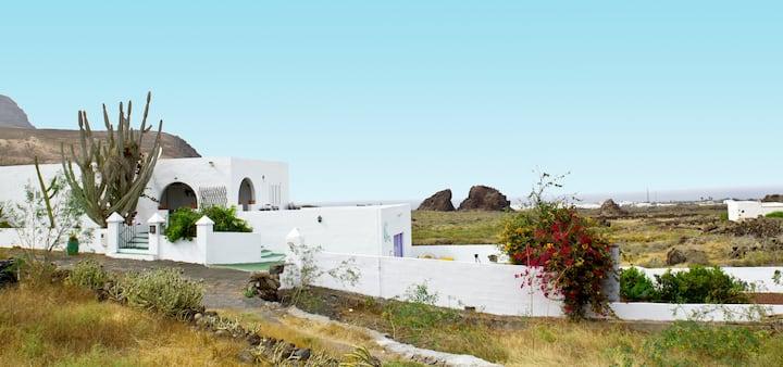 Villa Tranquila en Órzola, Lanzarote.