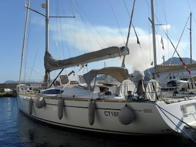 Boat & Breakfats on board in Lipari