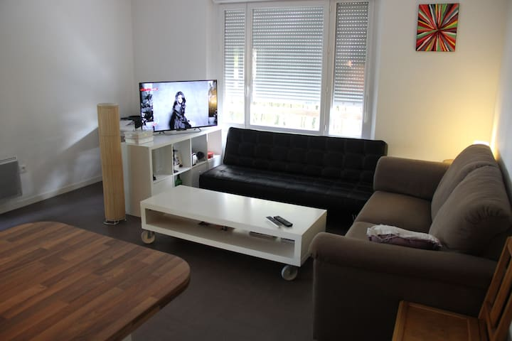 Appartement la Beaujoire  Nantes - น็องต์