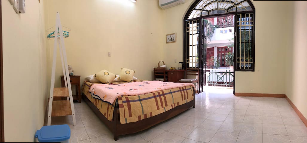 Cool Bedroom with large balcony