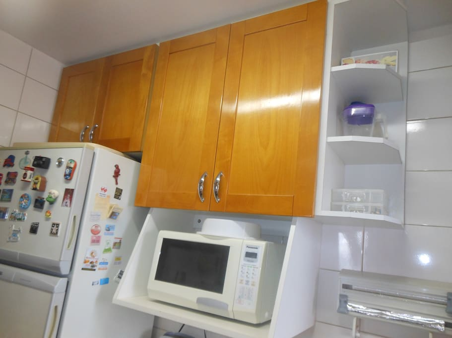 Microwave and all cooking equipment