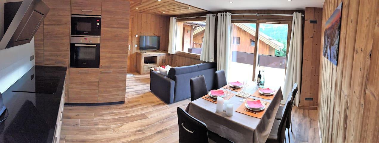 Appartement K2 BIS Neuf, Meribel village 2/4 Pers