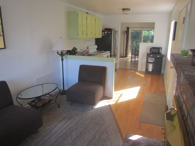Spacious 1 Br in-law apt. near Beach & Harbor