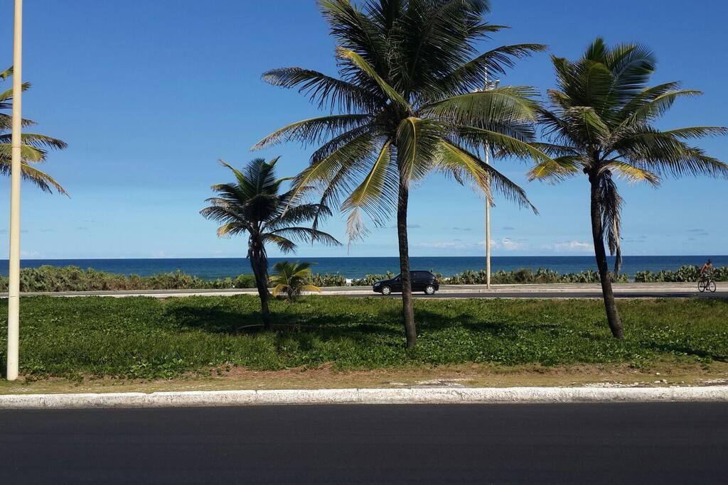 Vista do Mar de Salvador.