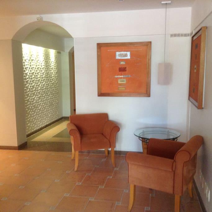 Hall de Entrada do Prédio.
