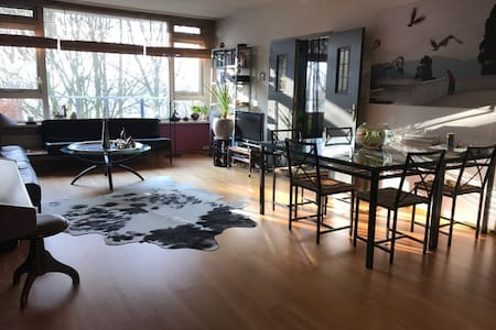 Spacious cozy/comfortable apartment (120m²) - Diemen - 公寓