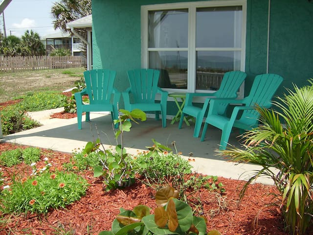 Life's Just Beachy-Oceanfront 2 Bedroom Home - Flagler Beach