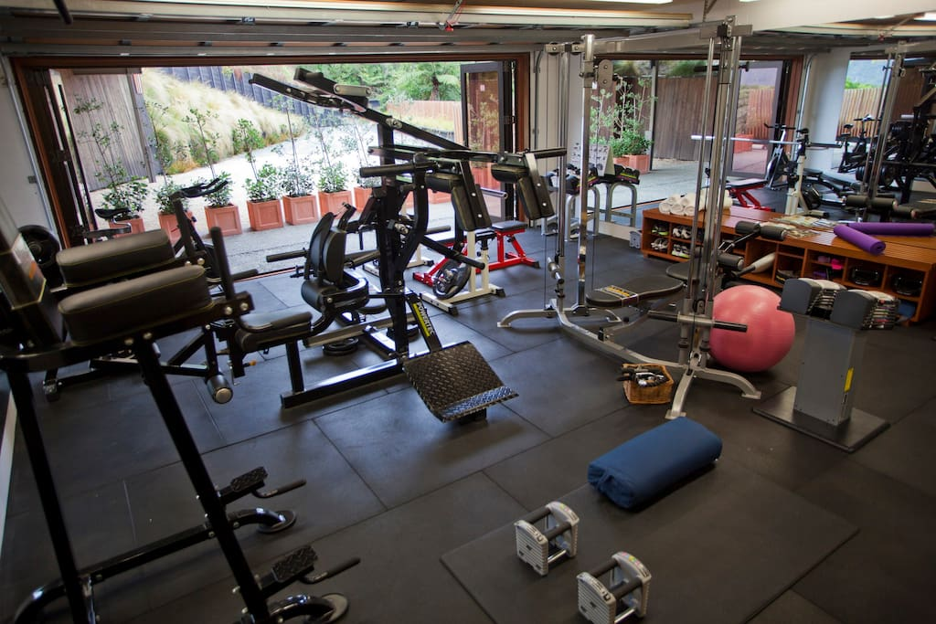 Re-energize yourself in our fully equipped gym.