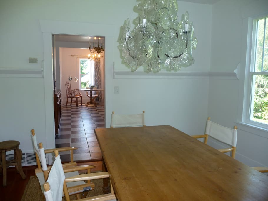 Dining Room with door leading to kitchen