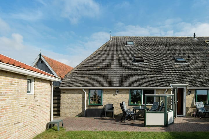 Spacious Apartment in Oosterend Terschelling Amidst Meadows