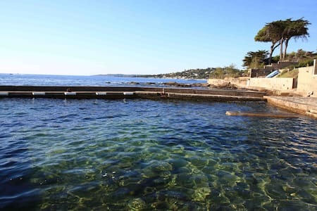 Sea front luxurious b&b,10 metres from sandy beach - Sainte-Maxime - Bed & Breakfast