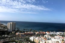 Tenerife South. Las Americas beach. Sea view WIFI