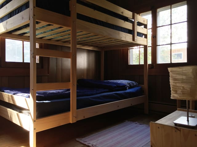 Bedroom #2 in the farmhouse.