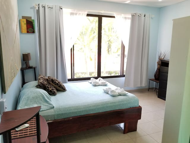 Newly updated open two level unit in Jacó #68