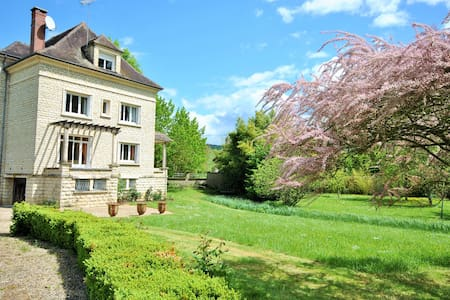 villa, 14 pers, 7 chambres, 1 hours from paris - Cézy