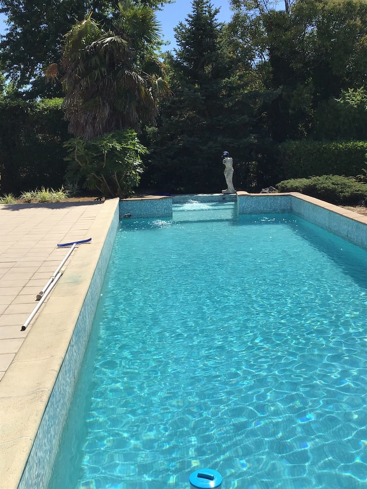 Au sud de Toulouse villa 116m2 avec grande piscine