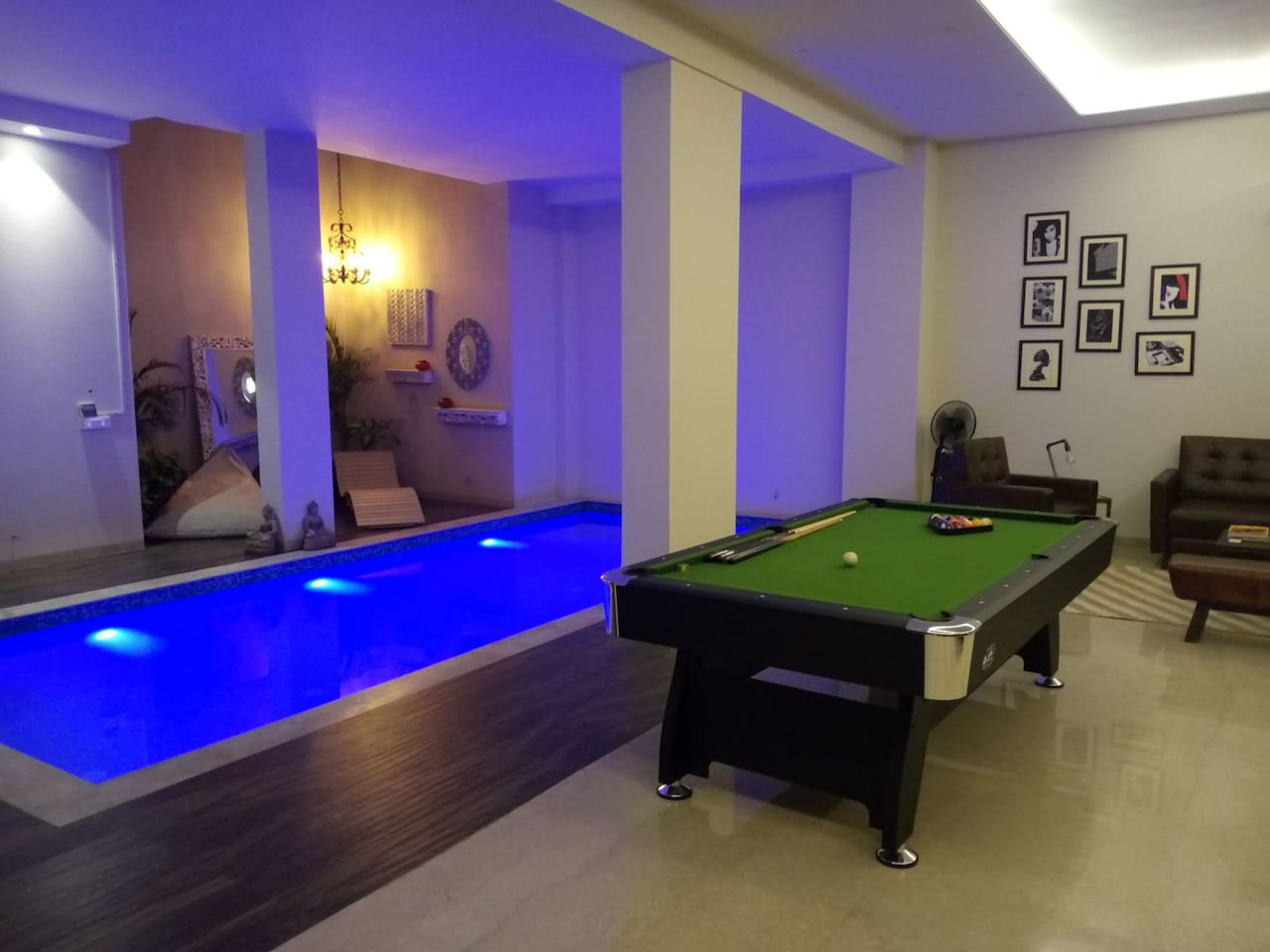 Swimming pool and recreational area only for the listing residents