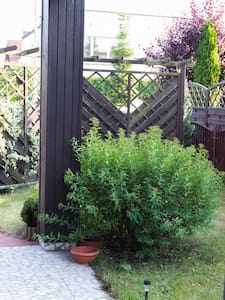 Klimatyczny pobyt   w domu z ogrodem - Wrocław