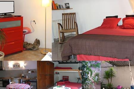Spacieux studio au cœur de la cité - Aigues-Mortes