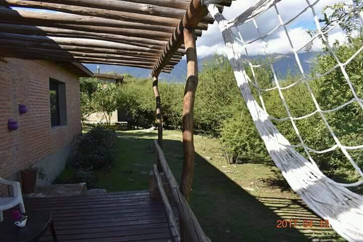 Cabaña con vista a la sierra, La Aguada