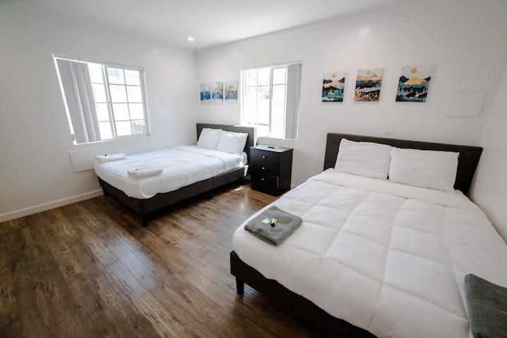 10 Private Modern Room Near Universal Studios