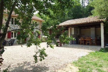 Vakantiehuis voor 8  naturisten - Busserolles - House
