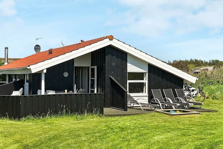 Quaint Holiday Home in Løkken with Whirlpool