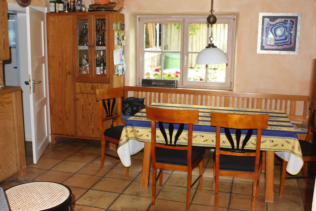 Küche zur Mitbenutzung ab 4 Übernachtungen