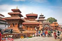 Kathmandu Darbar Square. Kathmandu City Capital of Nepal. Beautiful city.