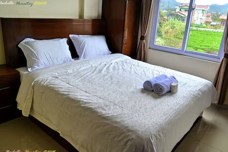 King Size bed - Sibayak Mountain View