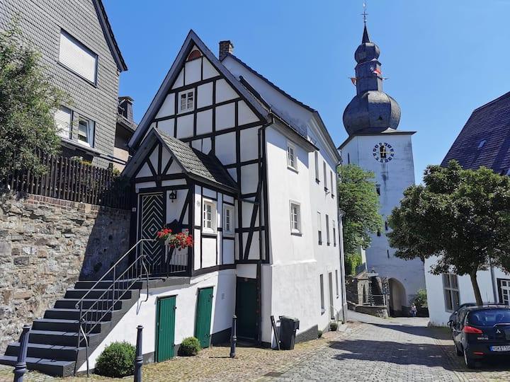300 Jahre altes Haus in der historischen Altstadt