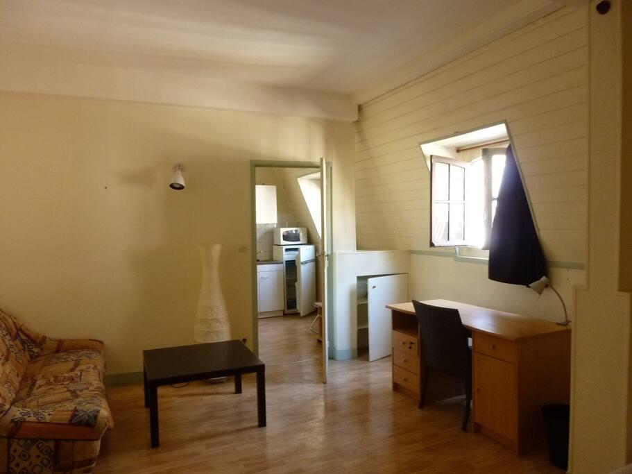 Rouen vieux march appartement 30m2 apartments for rent for Location meuble rouen