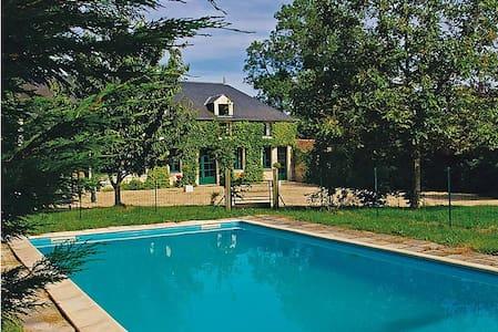 Maison de caractère, piscine privée 8 personnes - Vouvant - Ev