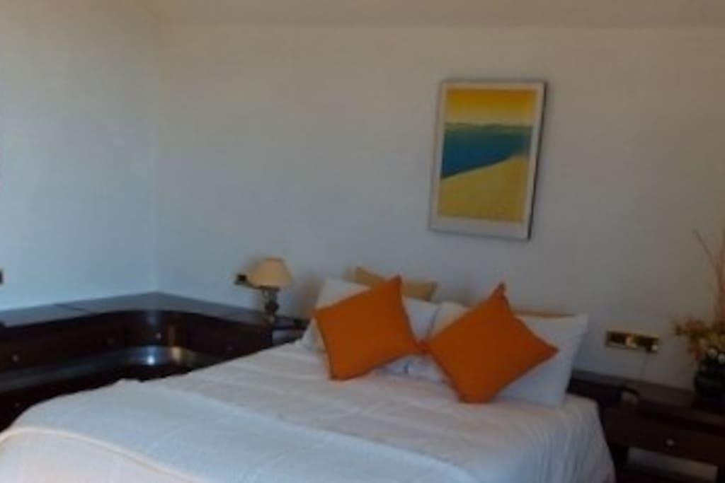 Chambre lit double chambre plus grande