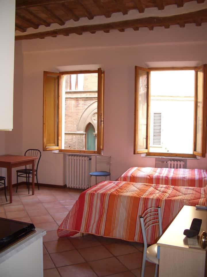 Studio apt 3 Siena historic center