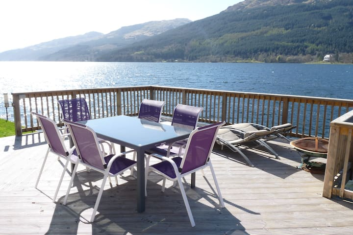 Waterfront House, stunning location with Hot Tub - Ardmay, Arrochar, Argyll and Bute - House