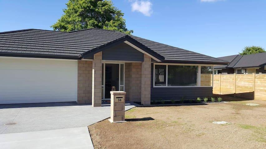 Modern spacious home