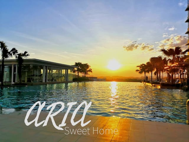 Sunset View @ Aria Sweet Home with WiFi & Netflix