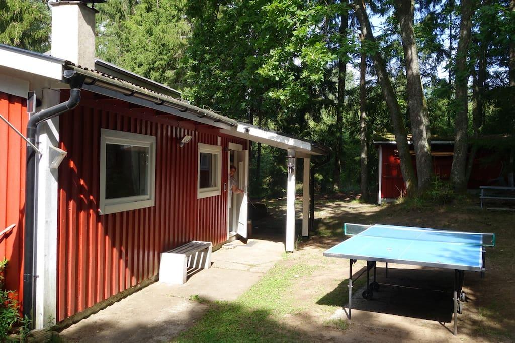 ferienhaus mit boot am see mit wlan h user zur miete in hamneda kronoberg county schweden. Black Bedroom Furniture Sets. Home Design Ideas