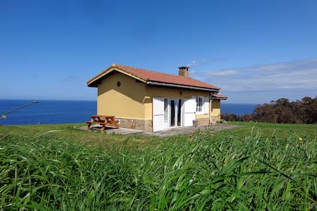 Cottage on a Cliff in Oles, Gijon - Asturias - Dom