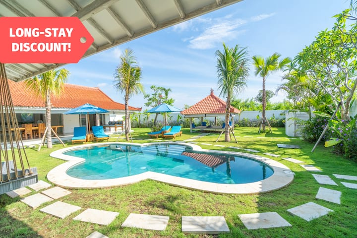 Enjoy Long Stay Discount in Hidden Paradise Villa