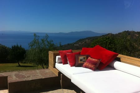 Amazing villa pool+view in Assos - Kayalar