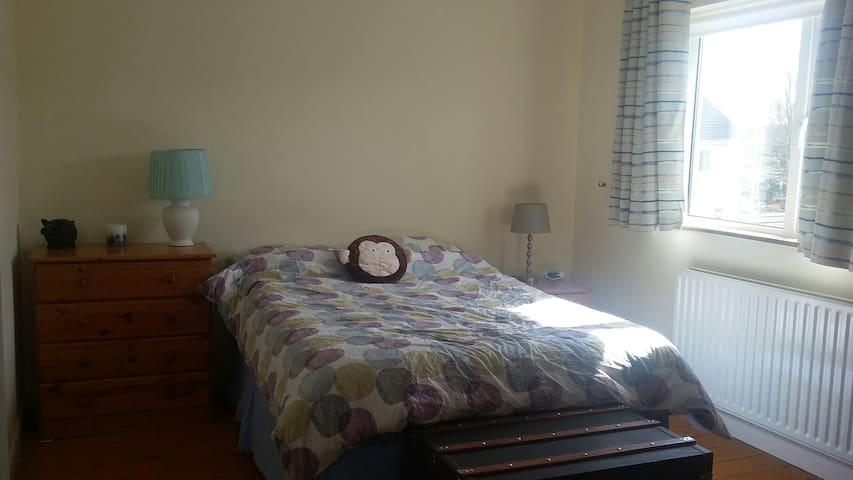 Bright spacious double room in Raheny - Raheny - Casa