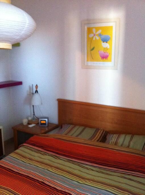 Un vrai lit 2 places pour une bonne nuit de sommeil