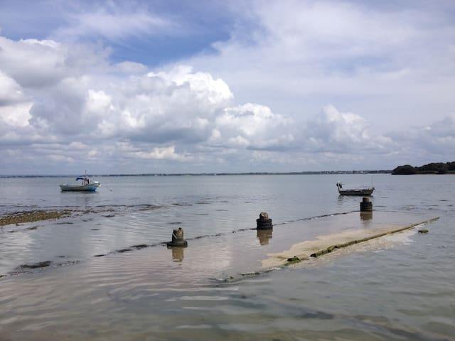 Maison vue sur le Golfe du Morbihan