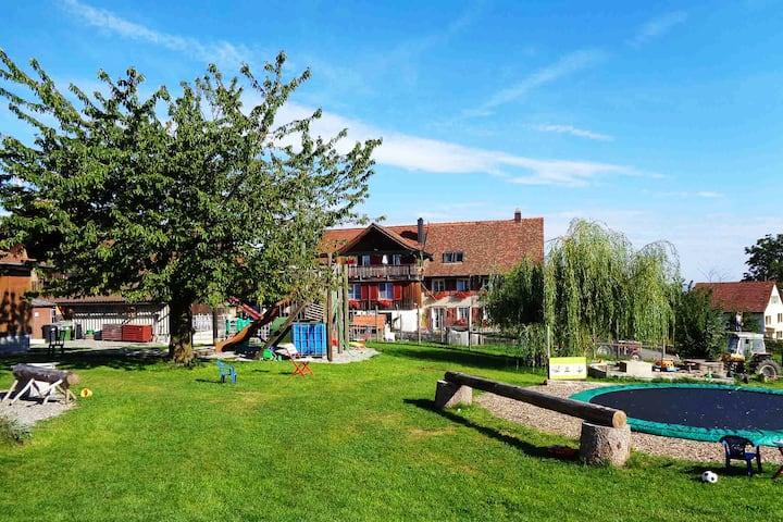 """Ferien auf dem Bauernhof - Wohnung """"Apfelbaum"""""""