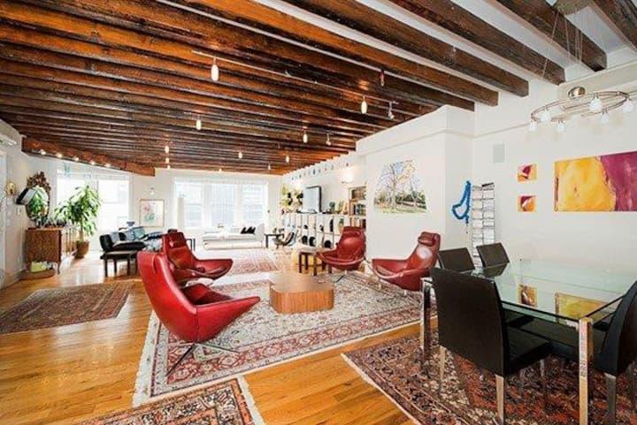 In a Chelsea loft:  A PERFECT private room & bath