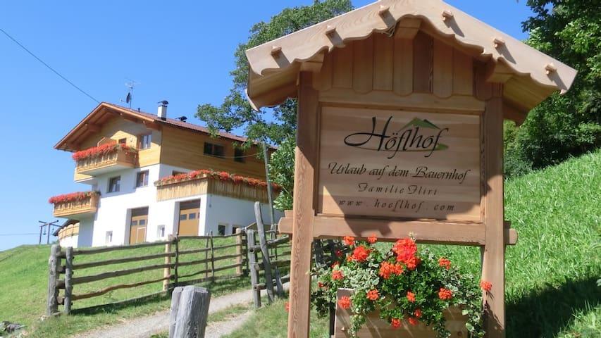 Höflhof- Urlaub auf dem Bauernhof FEWO Morgensonne
