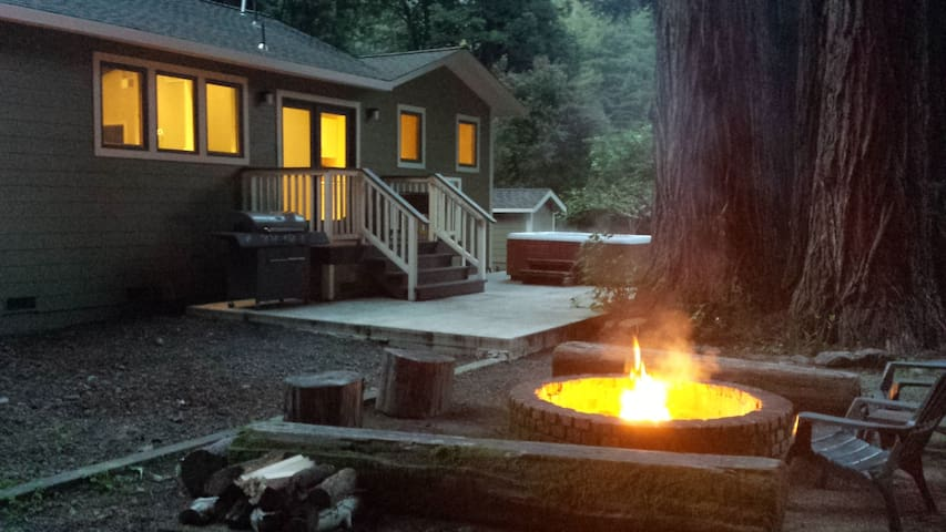 A Grand Family Retreat Among the Redwoods